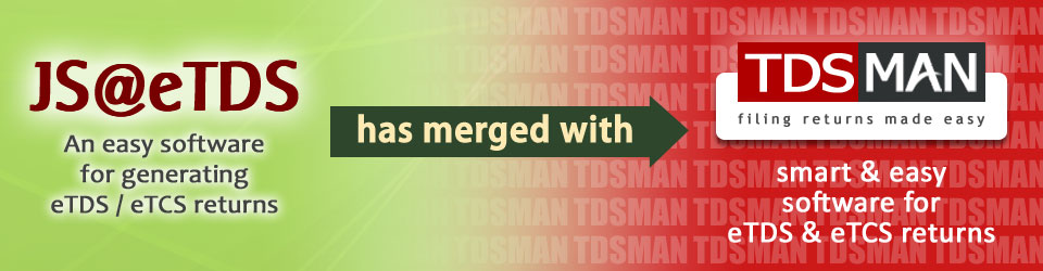JS@eTDS has merged with TDSMAN